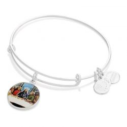 Alex and Ani The Last Supper Charm Bangle - Shiny Silver Finish