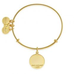 Alex and Ani You Got This Charm Bangle - Shiny Gold Finish