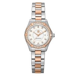 Ladies' TAG Heuer AQUARACER Diamond Two-Tone Watch
