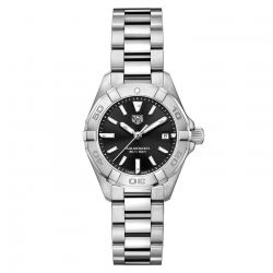 Ladies' TAG Heuer AQUARACER Quartz 27mm Black Dial Watch WBD1410.BA0741