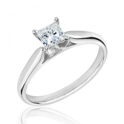 REEDS Jewelers Exclusive Roberta Z Ideal Solitaire Engagement Ring with GSI Grading Report 1/2ct