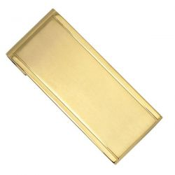 Stainless Steel Gold Ion-Plated Money Clip