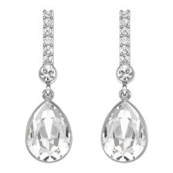 Swarovski Crystal Attention Pierced Earrings