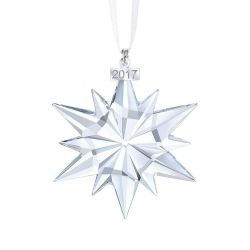 Swarovski Crystal Christmas Ornament, Annual Edition 2017
