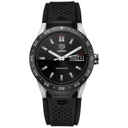 TAG Heuer Connected Watch - Rubber Strap