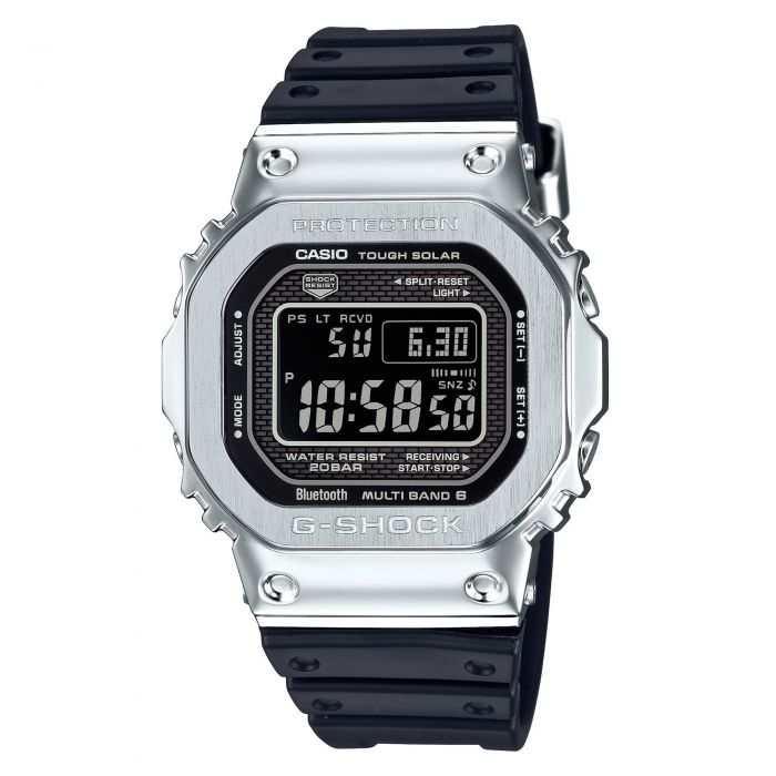 Casio G Shock Full Metal Digital Connected Stainless Steel And Resin