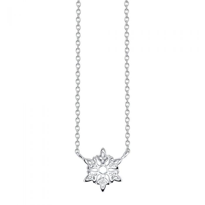 Disney's Frozen Let It Go Snowflake Necklace