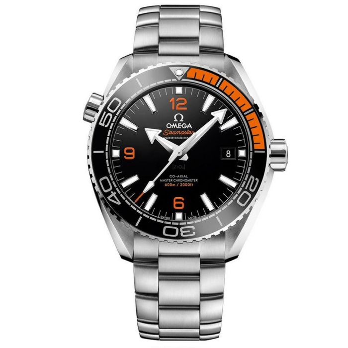 a200de818a6db5 Men's OMEGA Seamaster Planet Ocean Master Chronometer Black Dial Watch  O21530442101002 | REEDS Jewelers