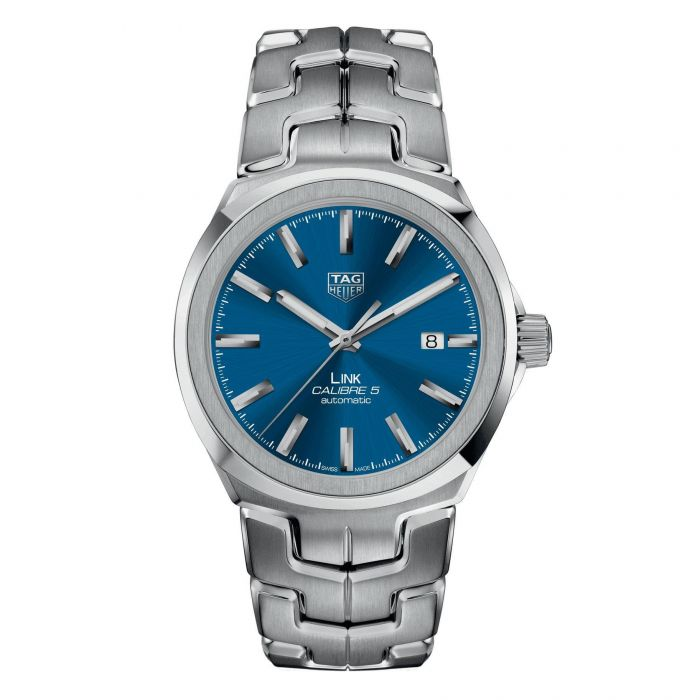 c6d24a17f98 Men's TAG Heuer LINK Calibre 5 Automatic Watch WBC2112.BA0603 | REEDS  Jewelers