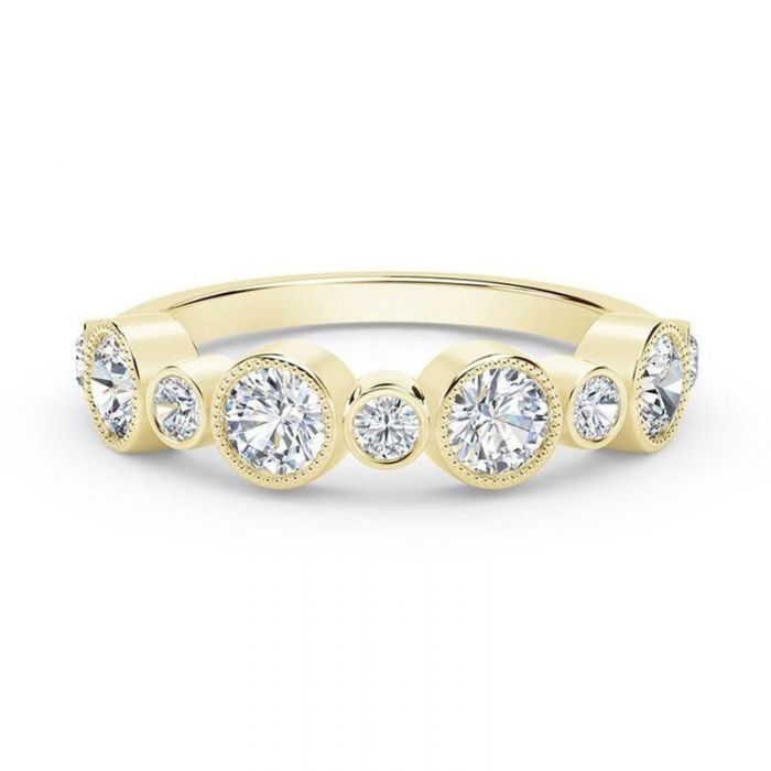 06ac8eb689b2e The Forevermark Tribute Collection Yellow Gold Multi-Diamond Ring 5/8ctw