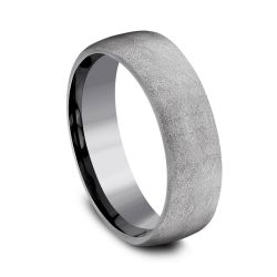Benchmark Tantalum 6.5mm Swirl Finish Band