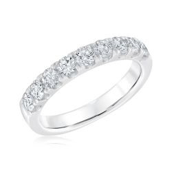 Forevermark Nine Diamond Anniversary Band 1ctw
