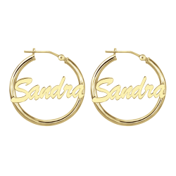 Hoop Earrings 25mm