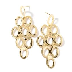 IPPOLITA Gold Classico Cascade Earrings