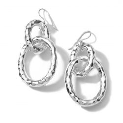 IPPOLITA Silver Classico Bastille Link Earrings