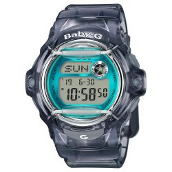 Ladies' Casio Baby-G Grey Resin Watch BG169R-8B