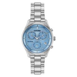 Ladies' Citizen Chandler Chronograph Blue Watch FB1440-57L