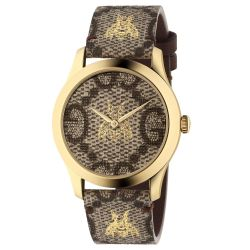 Ladies' Gucci G-Timeless GG and Bee Watch YA1264068