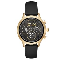 Ladies' Michael Kors Access Runway Touchscreen Black Strap Smartwatch MKT5053