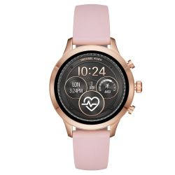 Ladies' Michael Kors Access Runway Touchscreen Pink Strap Smartwatch MKT5048