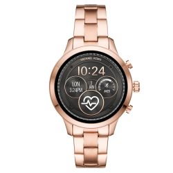 Ladies' Michael Kors Access Runway Touchscreen Rose Gold-Tone Smartwatch MKT5046