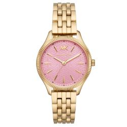 Ladies' Michael Kors Lexington Gold-Tone Stainless Steel Watch MK6640