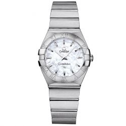 Ladies' OMEGA Constellation Quartz Stainless Steel Watch O12310276005001