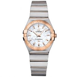 Ladies' OMEGA Constellation Two-Tone Watch O12320276005001