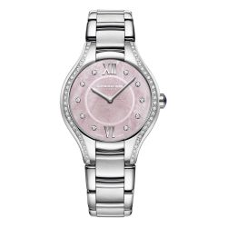 Ladies' Raymond Weil Noemia Pink Mother-of-Pearl Dial with Diamonds Watch 5132-STS-00986
