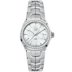 Ladies' TAG Heuer LINK Quartz Watch WBC1314.BA0600