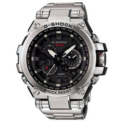 Men's Casio G-Shock MT-G Metal Twisted Solar Stainless Steel Chrono Tough Watch