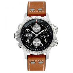 Men's Hamilton Khaki Aviation X-Wind Automatic Chronograph Watch H77616533
