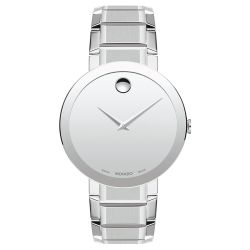 Men's Movado Museum Classic Silver Dial Watch 607178