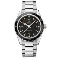 Men's OMEGA Seamaster Black Dial Stainless Steel Watch O23330412101001