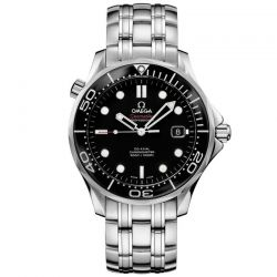 Men's OMEGA Seamaster Diver Co-Axial Black Dial Watch O21230412001003
