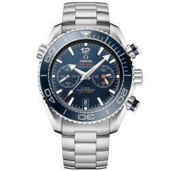Men's OMEGA Seamaster Planet Ocean Blue Dial Chronograph Watch O21530465103001