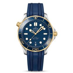 Men's OMEGA Seamaster Pro-Diver 300 Blue Dial Watch O21022422003001