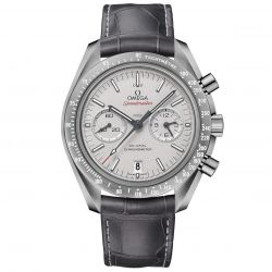 Men's OMEGA Speedmaster Chronograph Grey Side of the Moon Watch O31193445199001