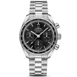 Men's OMEGA Speedmaster Co-Axial Chronograph Black Dial Watch O32430385001001