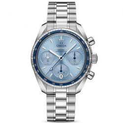 Men's OMEGA Speedmaster Co-Axial Chronograph Blue Dial Watch O32430385003001