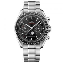 Men's OMEGA Speedmaster Moonphase Chronograph Watch O30430445201001