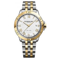 Men's Raymond Weil Tango Two-Tone Stainless Steel Watch 8160-STP-00308