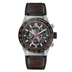 Men's TAG Heuer CARERRA Calibre Heuer 01 Automatic Watch CAR201U.FC6405