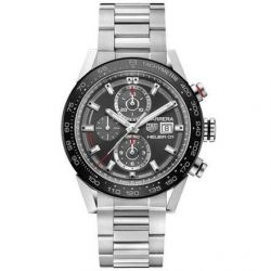 Men's TAG Heuer CARRERA Calibre Heuer 01 Automatic Chronograph Watch CAR201W.BA0714