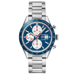 Men's TAG Heuer CARRERA Calibre 16 Automatic Chronograph Watch CV201AR.BA0715