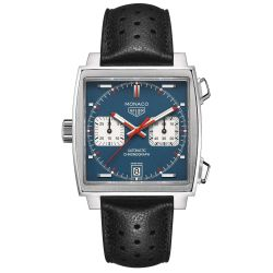 Men's TAG Heuer MONACO Calibre 11 Automatic Chronograph Watch CAW211P.FC6356
