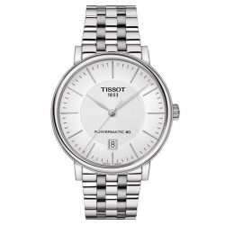 Men's Tissot Carson Powermatic 80 Stainless Steel Watch T1224071103100