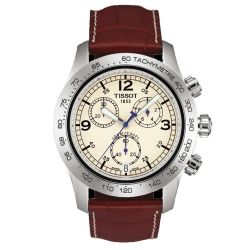 Mens V8 Ivory Chronograph Sport Watch