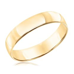 Men's Yellow Gold 5mm Wedding Band
