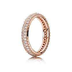 PANDORA Rose Inspiration Within Ring, Clear CZ